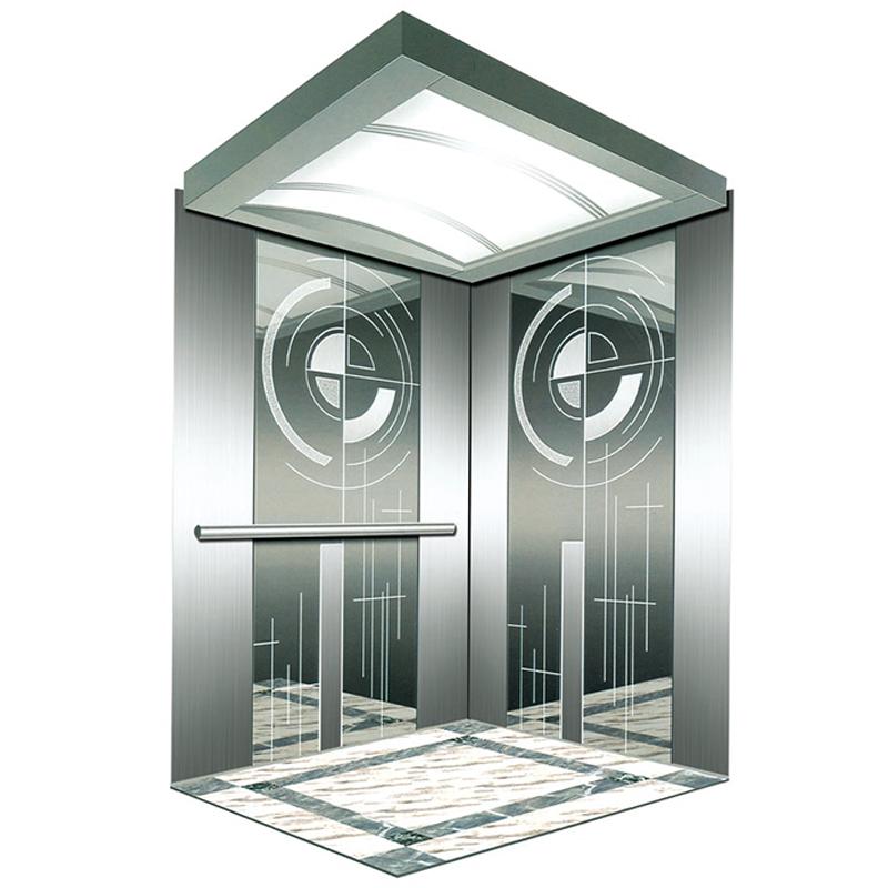 VVVF Thang Máy Hệ Thống Điều Khiển Khác Nhau Phong Cách Hành Khách Thang Máy Cabin Trang Trí