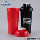 Competitive Price FDA Approved 700ml Flip Top Bottle Protein Shaker with Mixing Ball