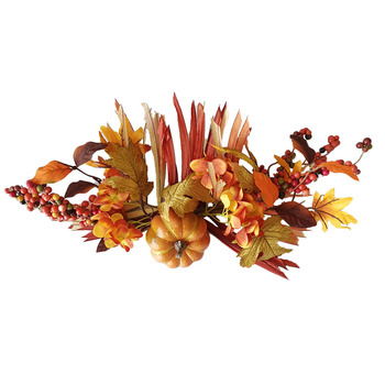 Custom Artificial Indoor Leaves And Berries Plant And Model Artificial Autumn Leaves