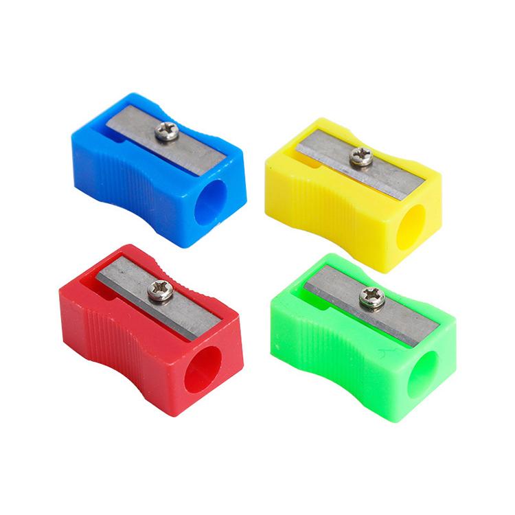Высокое качество Пластиковые студентов, придавая грифелю идеальную форму и цветные карандаши точилкой по низким ценам