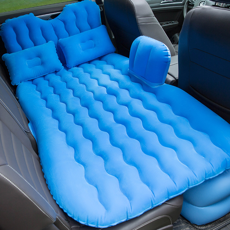 Factory sale Durable PVC inflatable air bed for car inflatable car air bed car inflated bed