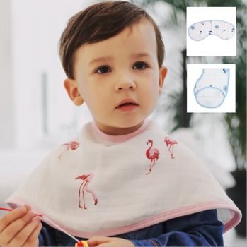 100% cotton baby muslin bib 360 organic baby bandana bib soft hand feeling weave bib towel hot sale high quality for infants