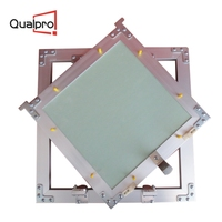 Recessed drywall ceiling inspection door access panel cover plate