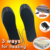 Cuttable USB heating heated insoles