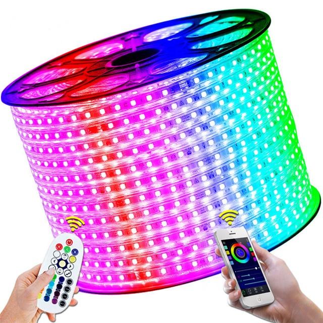 high brightness waterproof RGB smd 5050 3528 flexible led light strip