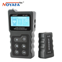 NOYAFA NF-488 POE Checker Test Power Over Ethernet Cat5 Cat6 Lan Tester Network Tools RJ45 Cable Tester