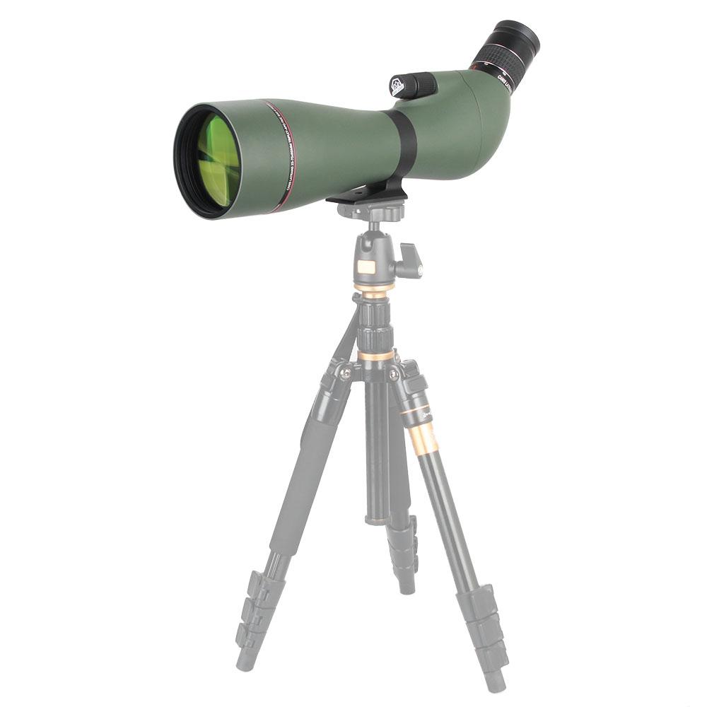 Guangzhou pabrik custom made 25-75X teleskop astronomi bermata spotting scope digital