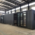 Luxury Decorated Modular Preassembled Container House modular house china prefab homes fully furnished container Office