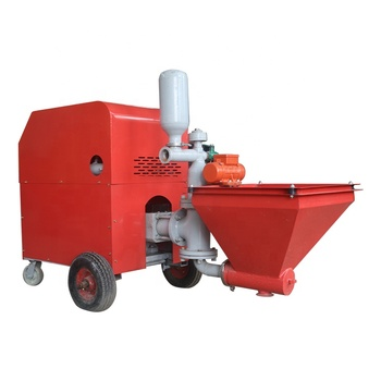 Hot sale High capability spray plastering machine for concrete mortar