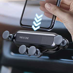 Premium Inventions No Magnetic Gravity Air Vent Clip Phone Holder For iphone In Car