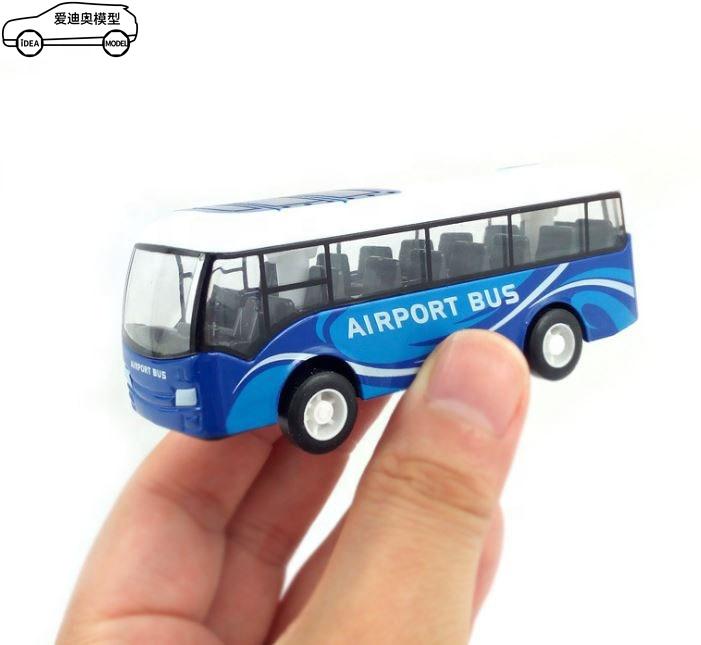 Mini fingertip diecast modell spielzeug bus mit ganze preis