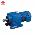 Electric Motor 220V 380V Speed Reduction AC Induction Electric Motor And Helical Reducer Gear Box