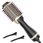 Upgraded Blow Hair Dryer Brush with ION Generator Featuring Anti-Frizz for Drying, Styling, Straightening and Curling