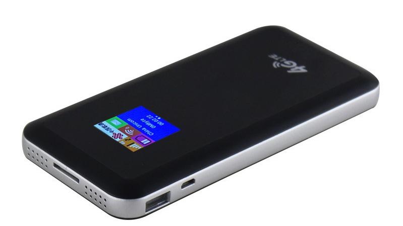 240g mobile hotspot 4g lte UCOS sistema di batteria bank wifi router cpe wireless illimitata fabbricazione 2.4 powerbank