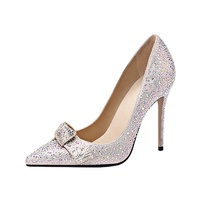 2019 High Heel Women's Pumps Crystal Shoes x19-c139c Ladies women custom Wedding Bride Heels Shoes