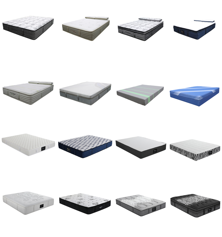D42 Diglant Bedroom Sets pillow inflatable natural latex hotel memory queen foam pocket spring mattress for bedroom furniture
