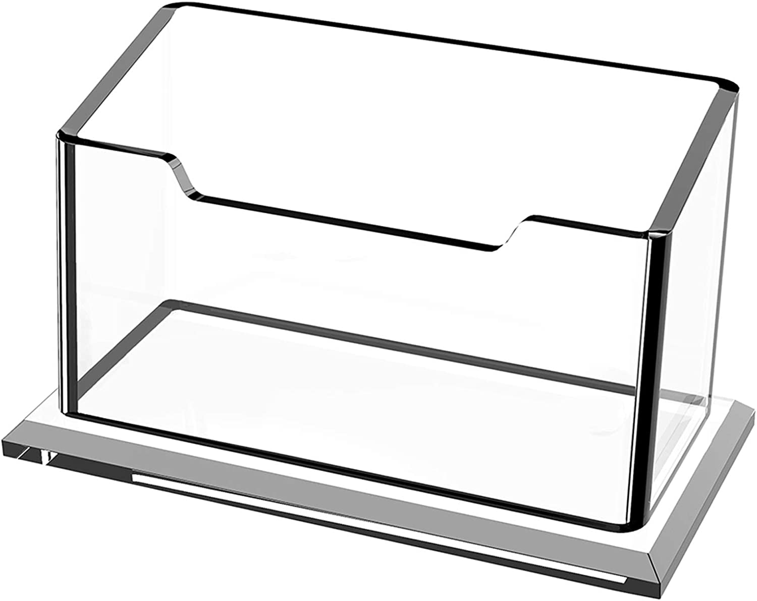 Can Hold 20 Business Cards,Acrylic Card Holder,Desk Business Card ...