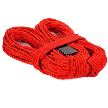 10kN 8mm static mountain climbing rope for hiking outdoor safety 2 buyers