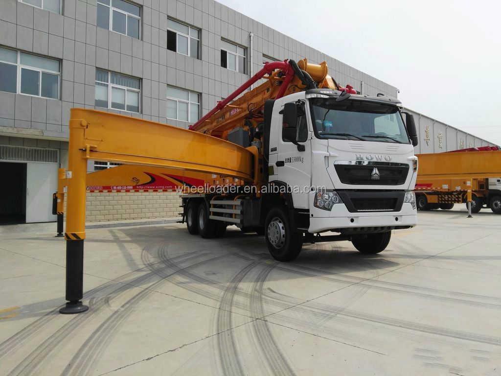 Super Supplier XCMG 34ton HB52K Diesel Concrete Pump