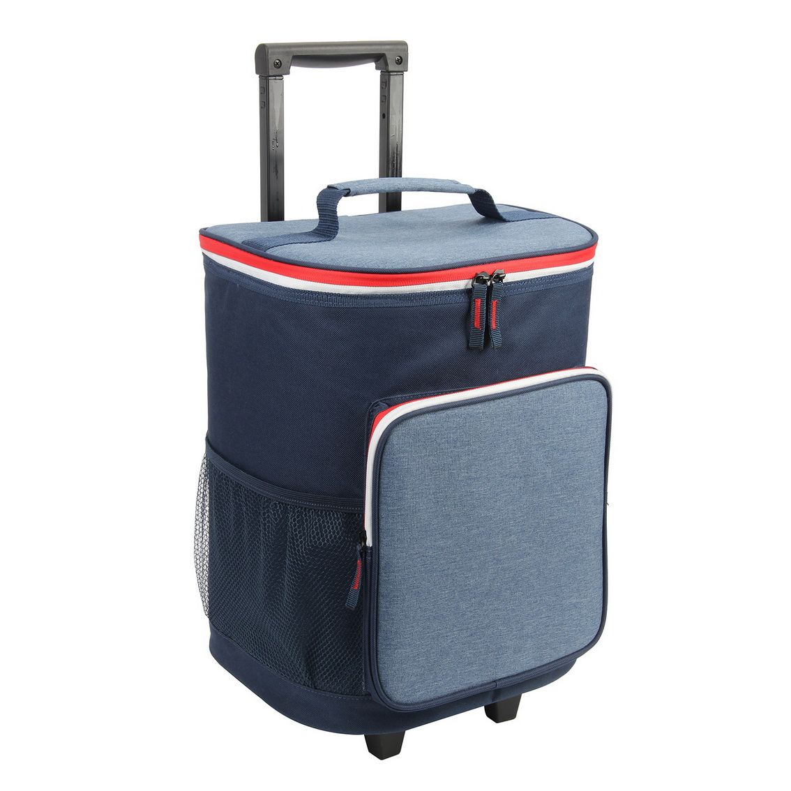 2021 Newest Style Polyester Shopping Trolley Picnic Cooler Bag with Wheels