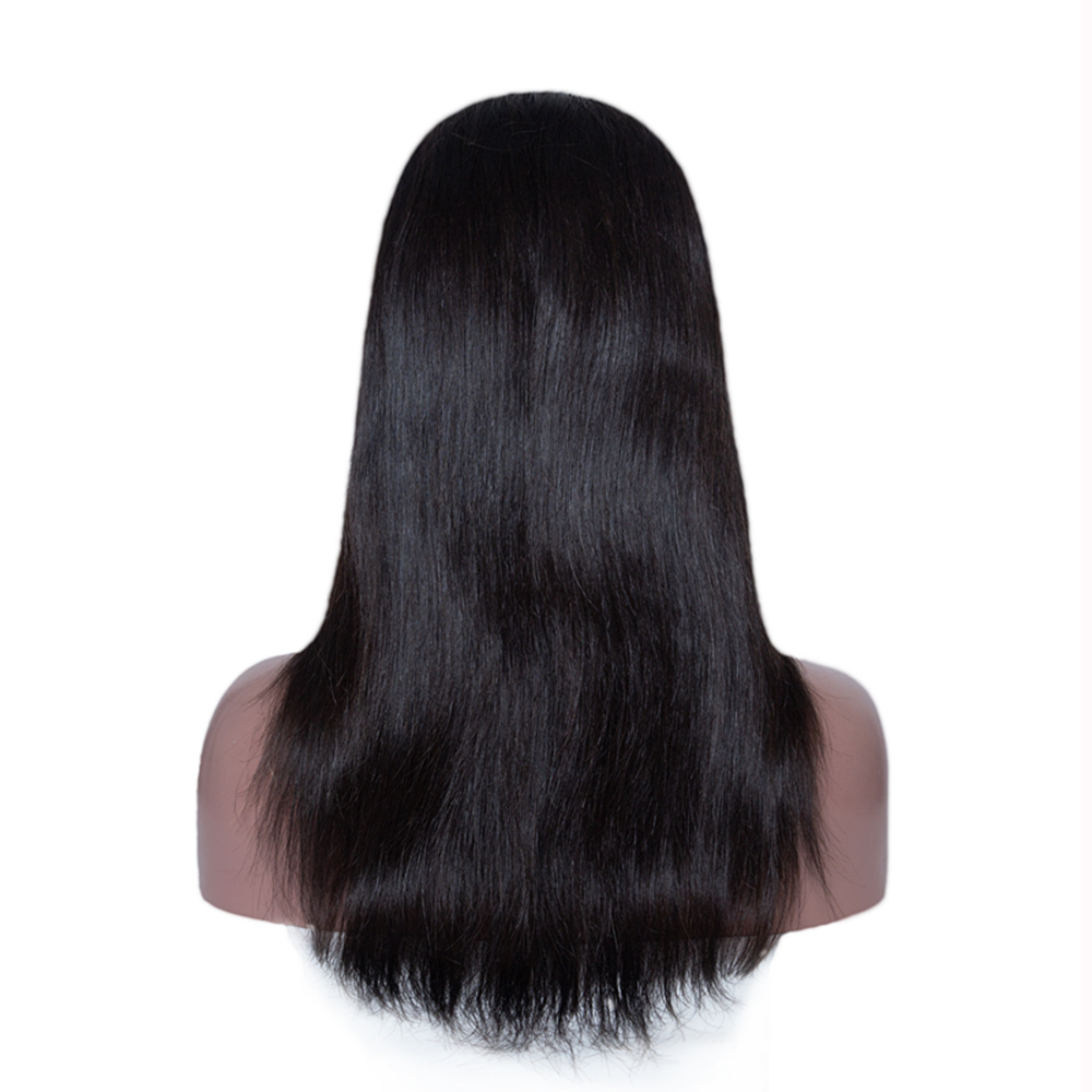 JcXBL Virgin Human Hair U Part Wig,Human Hair afro kinky straight U Part Wig 180% density brazilian human hair lace wigs