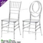 Hot sale clear napoleon wedding acrylic resin clear transparent chiavari chair