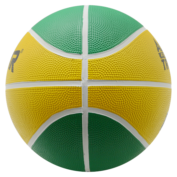 Colorful size 7 rubber basketball basket ball with custom logo