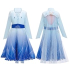 Girls Princess Dress Birthday Evening Party Dresses Anime Style Halloween Cosplay Costume For Kids