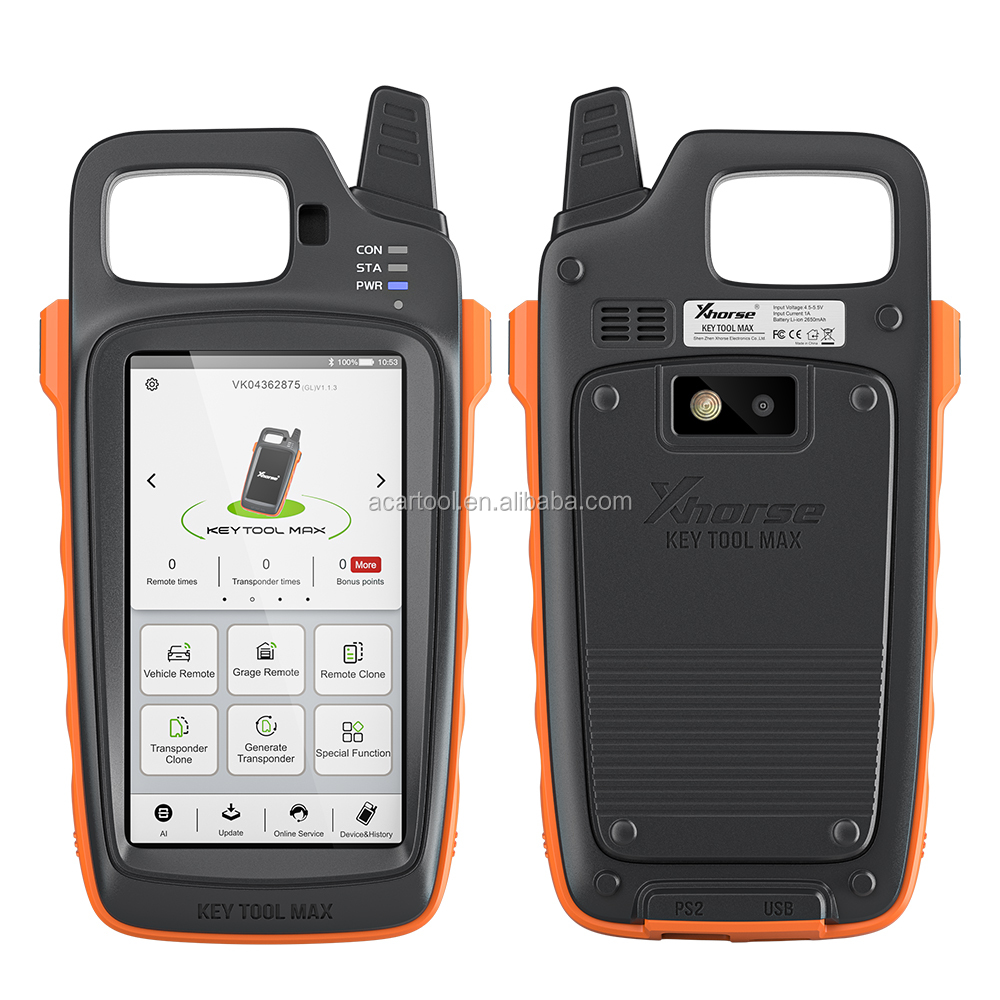 Xhorse VVDI Key Tool Max Support Generate Transponder and Remote tester xhorse 2020