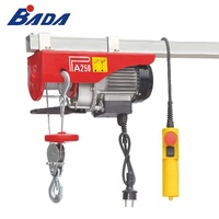 PA250D 125/250kg Capacity mini electric wire rope hoist