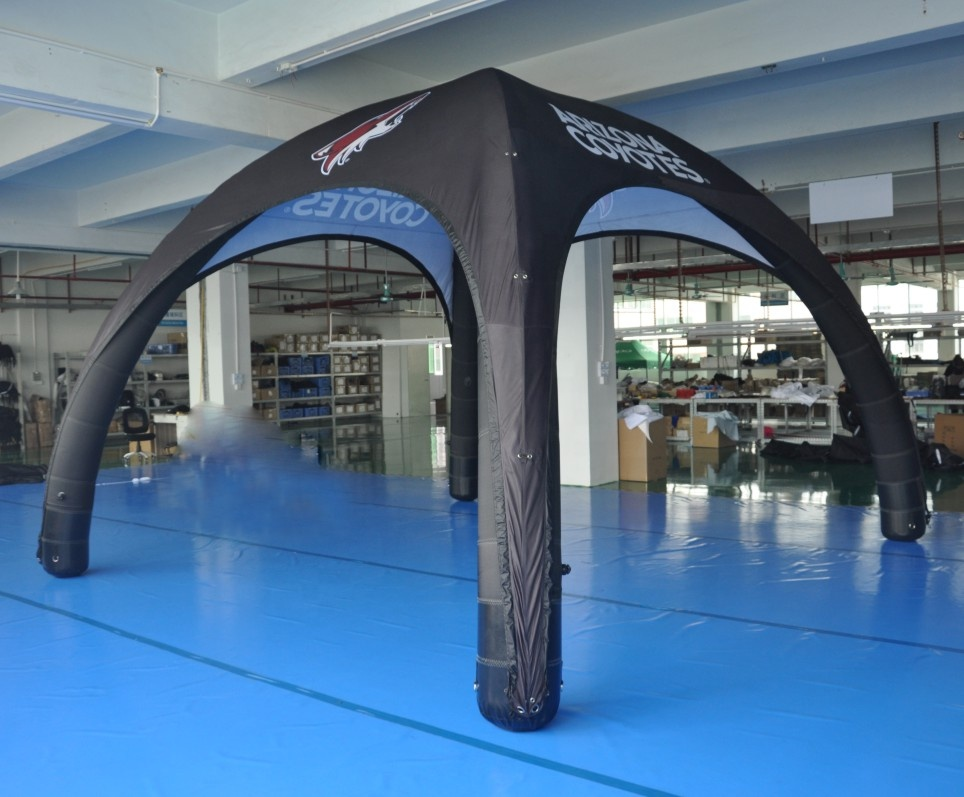 New Arrival Top Quality Free Sample Flame Retardant Coating Mega large Inflatable Tent//