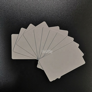 OEM student card 70*100 printable white pvc card for CANON mp630 mp640 mg5220 mg5240