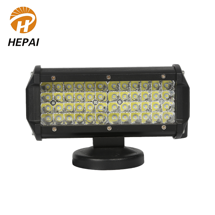 Manufacturer 12v led strip light waterproof strobe flashing truck car 144w work led light bar