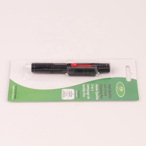 2 in 1cleaning pen can go to lens dust cleaning kit with exquisite package