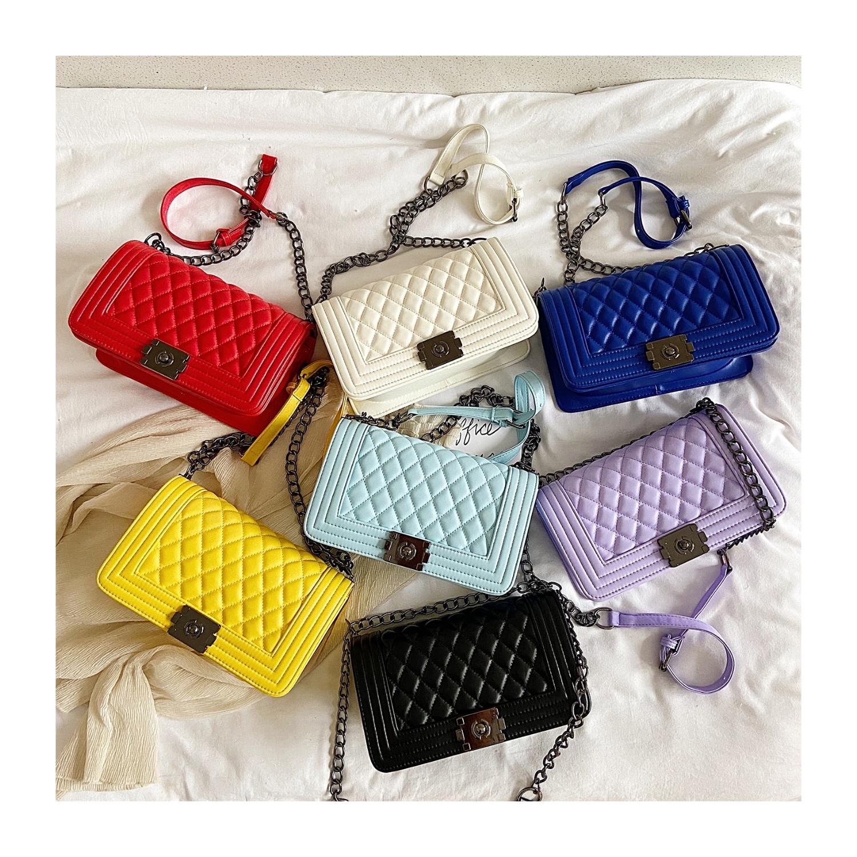 2020 latest luxury women hand bags mini jelly purses bags handbags for girls