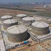 Chemical Ertical Bitumen Hot Oil Storage Tank With Heating Tube For Sale