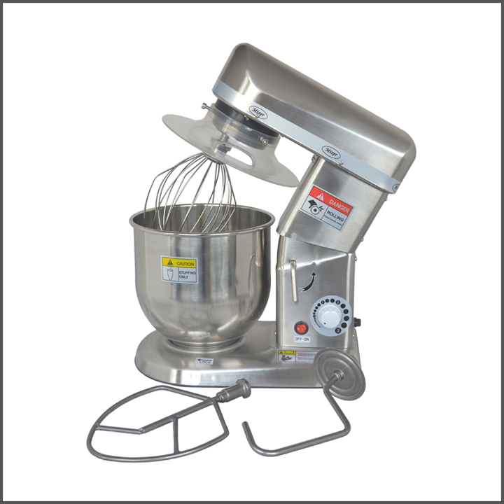 4L Commercial stand food electric flour dough mixer dough kneading machine chef's egg beater for sale