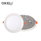 OKELI High bright indoor lighting aluminum smd 8w 15w 22w round recessed mounted led panel