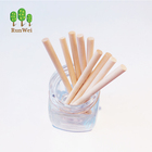 Kitchen Stick Birch Wooden Stick Custom Logo Printed Wood Ice Lolly Kitchen Birch Wood Round Stick