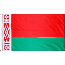 Hot Selling 3x5ft <span class=keywords><strong>Grote</strong></span> Digitale Afdrukken Polyester Nationale Land Custom Wit-rusland Vlag