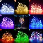 Christmas Decorative Christmas Garden Decoration Light Wholesale CR2032 Button Battery Box Copper Christmas Lights Outdoor Garden Decorative LED String Lights