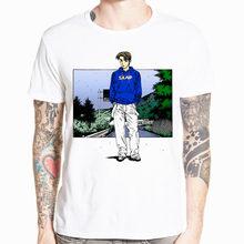 Мужская футболка с круглым вырезом и короткими рукавами, летняя повседневная футболка с принтом японского аниме, AE86(Китай)