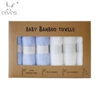 Wholesale Hot New Products Soft Organic Bamboo Cute Baby Animal baby washcloths soft