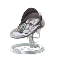 KUB multi-functional adjustable automatic infant swing chairs electric baby swing bed