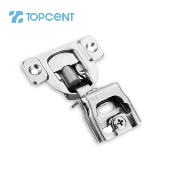 Topcent 1/2 inch overlay short arm face frame cabinet soft close concealed american hinge