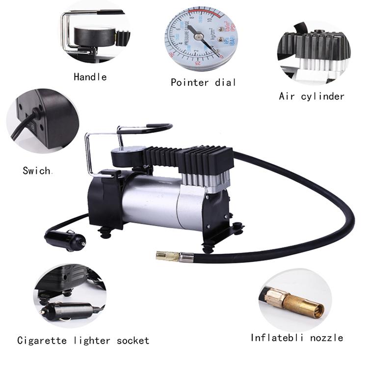 Portable mini industrial air compressor inflator pump for sale