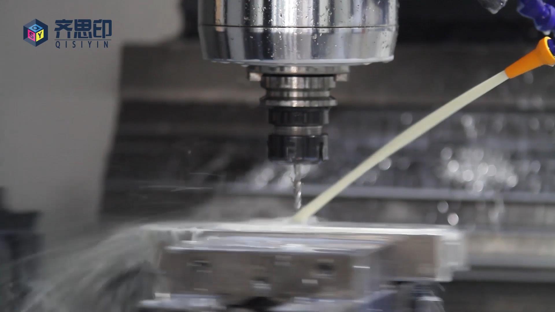 En métal d'usinage de commande numérique par ordinateur en aluminium de haute qualité en acier inoxydable en laiton pièces de service de prototypage rapide
