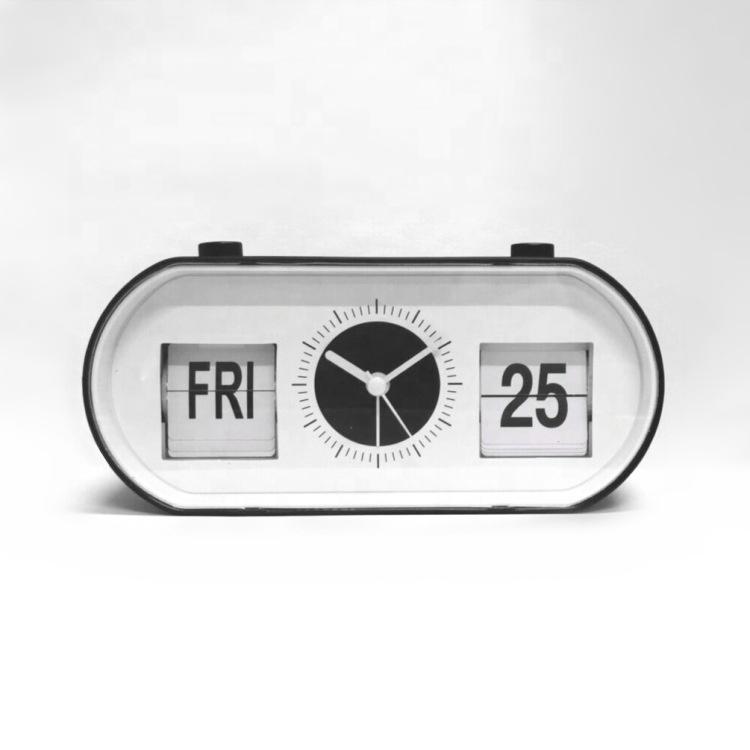 ABS Materiale di Vibrazione-Data Retro Sveglia Con Il Calendario