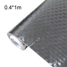 Кухонная настенная плита из алюминиевой фольги маслостойкая наклейка с противообрастающими высокотемпературными самоклеящимися обоями Н...(Китай)