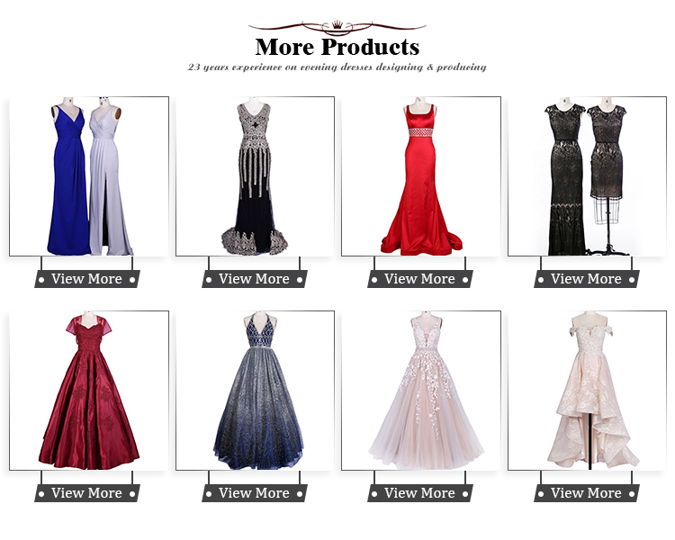 Chaozhou factory satin A-Line formal gown with deep V-Neck and pockets sexy evening dress